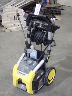 Karcher 2000PSI 120V Pressure Washer. SN 11061120019932