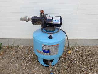 Con-Aire SCA42-J Controlled Air Water Tank C/w Home Plumber 115/230V 1/2hp Single Phase Pump