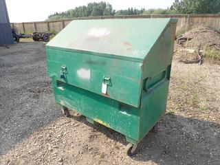 60in X 30in X 48in Greenlee 3660 Storage Box