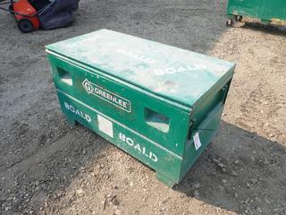 48in X 24in X 24in Greenlee HD2448 Storage Box C/w Contents