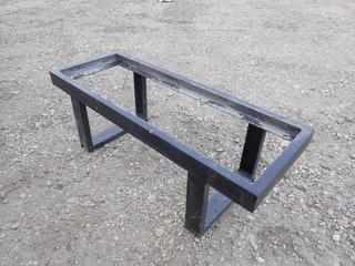 48in X 18in X 16in Steel Bench Frame