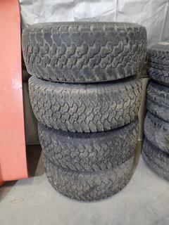 Qty Of (4) Winfield Sport King 31 X 10.50 R15 Tires w/ 5-Stud Steel Rims