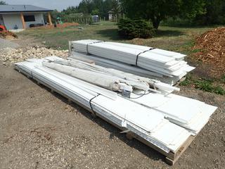 Qty Of 12ft - 20ft Lengths Of 16ub Trusscore PVC Interlocking Liner Panels