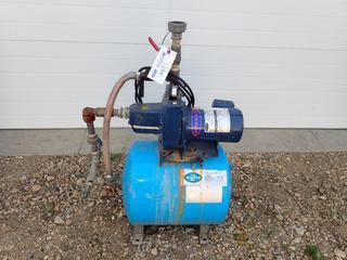 Jet-Rite PJR-44S Controlled Air Water Tank w/ Berkeley 5SN 115/230V Single Phase Pump