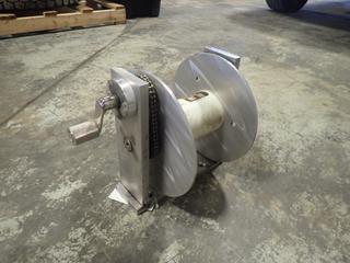 Shell-Ryn Aluminum Welding Reel w/ Mount *Unused*