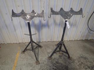 (2) Adjustable Grinder Stands