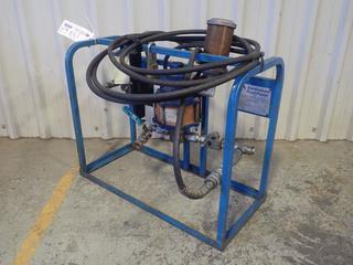 Berendsen Fluid Powered Hydraulic/Pneumatic/Electronic 9800PSI Pump C/w Hose. System# W002183