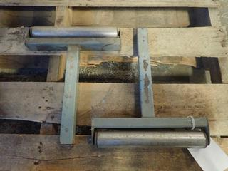 (2) Pipe Stand Roller Heads