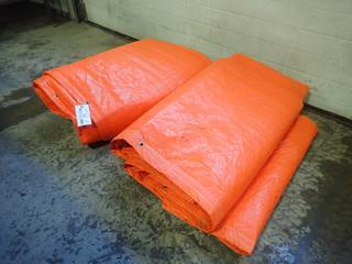 (2) Insulated Tarps *Note: Size Unknown*