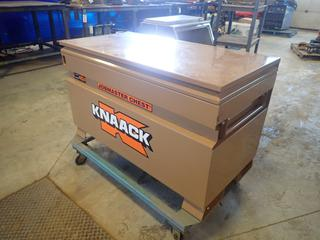 48in X 24in X 29in Knaack Storage Box C/w Portable Stand