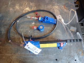 Powerfist 4-Ton 7250PSI Hydraulic Hand Pump