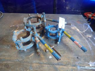 (1) 3in, (1) 4in And (1) 6in Pipe Clamps