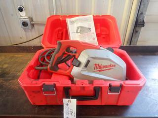 Milwaukee 120V 8in Metal Cutting Saw. SN A35DD1834