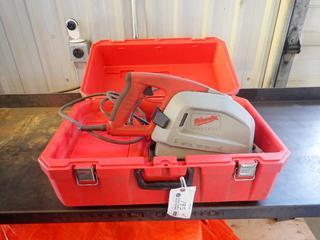Milwaukee 120V 8in Metal Cutting Saw. SN A35B911520317