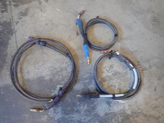 (1) Magnum 300 Lincoln Electric, (1) Miller And (1) Parweld MIG Welding Whips