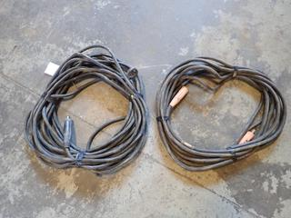 (2) 50ft Welding Cables