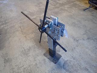 32in Flat Bar Roller w/ 3-Ton Hydraulic Jack