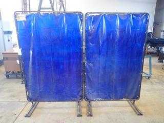 (2) 4ft X 6ft Tillman Welding Screens