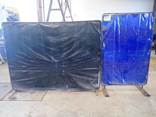 (1) 4ft X 6ft Tillman Welding Screen C/w 8ft X 6ft Welding Screen
