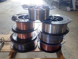 Qty Of Incomplete Rolls Of Assorted Welding Wire
