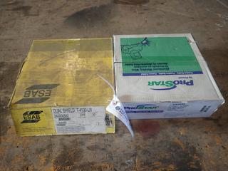 (1) Box Of Pro Star .035in Welding Wire C/w (1) Box Of ESAB Dual Shield T-4130-LN .045 Welding Wire