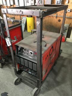 Canox Ultraweld 452 3 Phase Electric Welder w/Rolling Cart.
