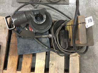 Enerpac Hydraulic Punch.