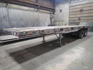 Fruehauf 32' T/A Deck Trailer  c/w Dual Wheel, 11R22.5 Tires, VIN 32M852602