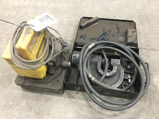 Enerpac Hydraulic Punch. Note:  Requires Punch.