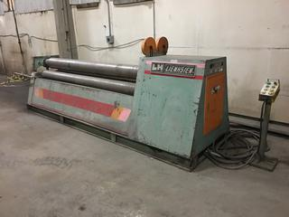 """1986 Lienhsien LHF-806E Hyd. Plate Roller c/w 102"""" Rollers, Controller, Capacity 6x2440, 3 Phase, S/N 38609, Buyer Responsible for Load Out."""