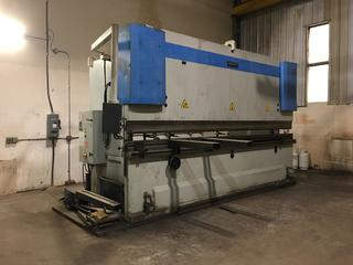 2000 Baykal APH 5112/300 Hyd. Press Brake c/w 300T Pressure, 280mm Stroke, 5300mm Length, 2100mm Width, 3100mm Height, 3 Phase, 220 V, 65A, 32 KW, 25,000 Machine Weight, Baykal APH P210 Control Unit, GS Foot Control, Buyer  Responsible For Load Out.