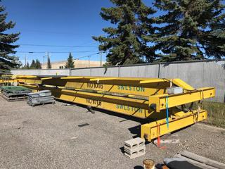 """(1) Crane Support Beam Unit 1015. 48' 1 1/2"""" long. Buyer Responsible For Load Out."""