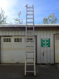 28ft Aluminum Extension Ladder