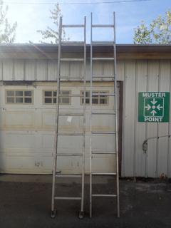 (2) 10ft Aluminum Ladders