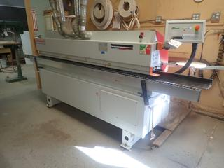 2007 Bi-Matic Challenge 4.3 230V 3-Phase Programmable Edge Banding Machine w/ 6-Bar Working Pressure. SN 5106 *Note: Buyer Responsible For Disconnect And Loadout*