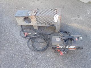 Mr Heater Model MH600FV 115V 30-60,000 BTU Heater C/w 70-150,000 BTU Propane/Gas Construction Heater