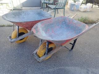 (2) Wheelbarrows
