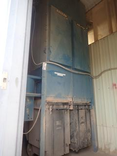 Open Modular Dust Collection System C/w  Brook Compton 208/230/460V 3-Phase Motor And Bag House System. SN 2005-10-19661-1 *Note: THERE WILL BE A $1500.00 FEE TO HAVE THE BUILDING MADE ACCESSIBLE TO REMOVE THIS LOT, Buyer Responsible For Disconnect And Loadout, For More Information Contact Simon @780-566-1831*