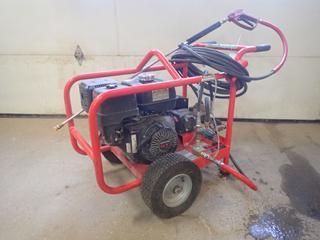 Hotsy Model BD-37359 3500PSI Pressure Washer w/ Honda GX390 Motor. SN 11070210-160173