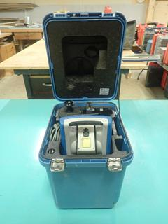 Cansel Spectra Precision Survey Equipment Transit w/ Focus 30-2in C/w Cable And Lithium Ion Rechargeable Battery.SN 87000084