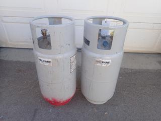 (2) 36.3L Propane Tanks To Fit Forklifts
