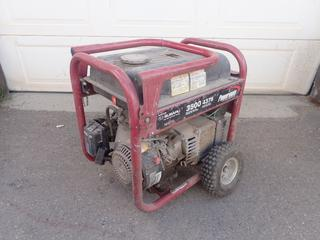 Powermate Model PC0433500 3500W Generator w/ Subaru Engine. SN F33100272E