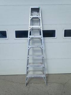 8ft Aluminum Step Ladder