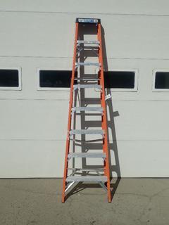 Industrial Lite 8ft Step Ladder *Note: Damage On Rung*