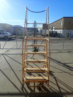 6-Step Portable Warehouse Ladder