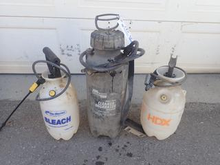 Qty Of (3) Degreaser And Industrial Cleaner Sprayers