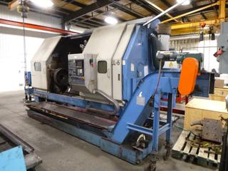 Yamazaki Mazak Slant Turn CNC Machine, Model ST-60MC-C, SN 65523, With Chip Conveyor, Includes Multi-Tool Turrent, *Note: Needs Main Electric Motor Replaced* *Buyer Responsible For Loadout*