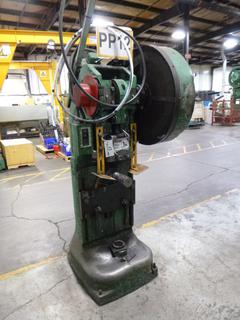 Rousselle Punch Press, Model No. 25H, SN 153-129, *Note: No Dies* *Buyer Responsible For Loadout*