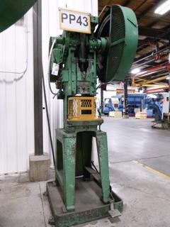 Modern Tool Works Punch Press, Model 32 Hercules, *Note: No Dies* *Buyer Responsible for Loadout*