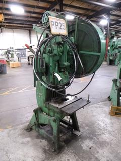 Perkins Punch Press, Model 400B, *Note: No Dies* *Buyer Responsible for Loadout*